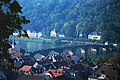 A001, Heidelberg, Germany, the Old Bridge from the Castle, 1990.jpg