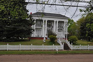 National Register of Historic Places listings in Monroe County, Mississippi - Image: ADAMS FRENCH HOUSE, ABERDEEN, MONROE COUNTY