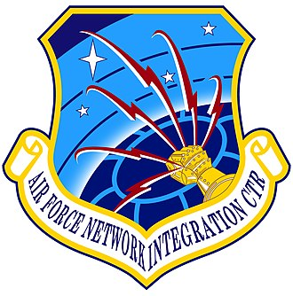 Air Force Network Integration Center - Shield of the Air Force Network Integration Center