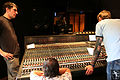 AMS Neve VXS72, Gravity Slaves recording, Studio Contrepoint, May 2010.jpg