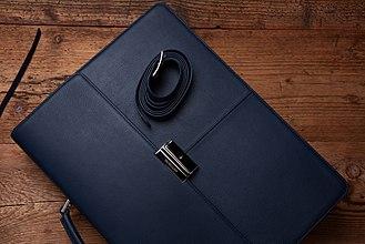 Briefcase - Leather briefcase