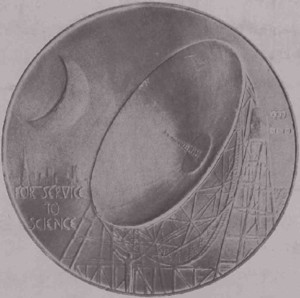 Australian and New Zealand Association for the Advancement of Science - ANZAAS medal (reverse)