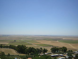 History of Carmona, Spain - Panoramic view looking south from Carmona
