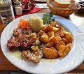 APortugiesische Küche Schweinenackensteak in Weißweinknoblauchsauce.jpg