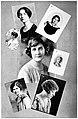 A Few of the Eminent Women of Colorado, Margaret Tod Ritter, Virginia D. McClurg, Christine Whiting Parmenter, Lillian White Spencer, Nona L. Brooks, Agnes Wright Spring, Millicent H. Velhagen.jpg