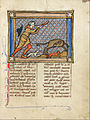 A Hunter Blowing His Horn While His Dogs Attack a Beaver - Google Art Project.jpg