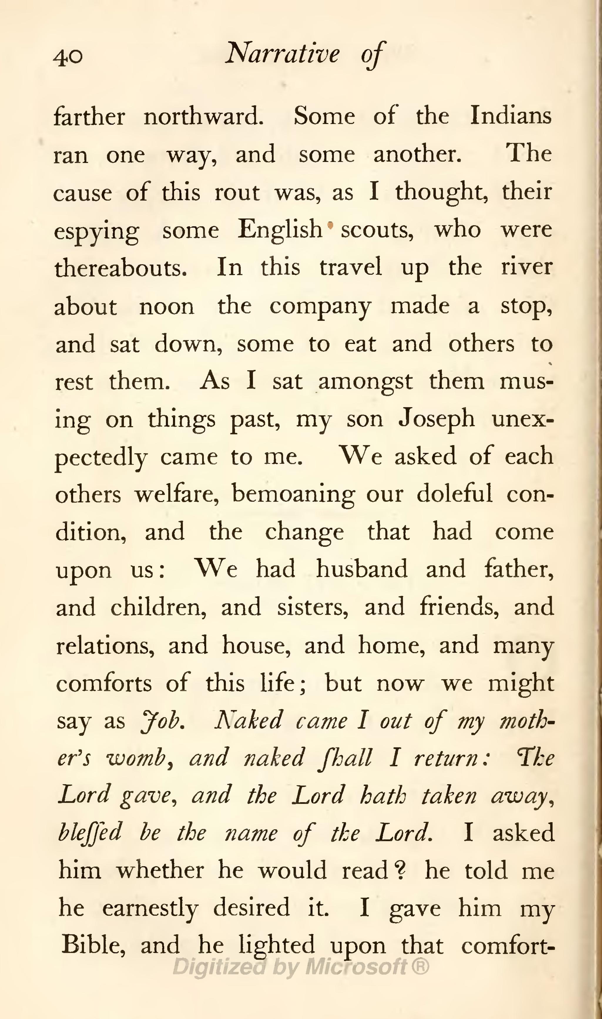 the account of mary rowlandson and Mary rowlandson's captivity narrative essay mary rowlandson's captivity narrative is about her the account of mary rowlandson and other.