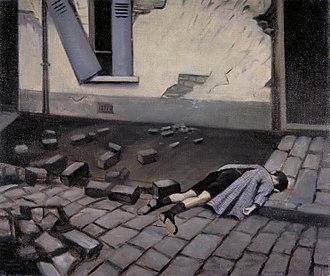 Christopher R. W. Nevinson - A Taube (1916) (Art.IWM ART 200)