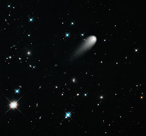 Sungrazing comet - Image: A Unique Hubble View of Comet ISON