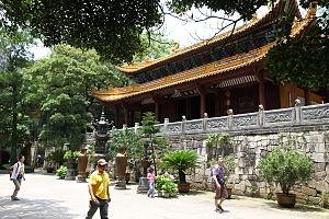 Fayu Temple - Jade Buddha hall in Fayu Temple