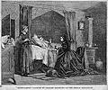 A wealthy woman visiting the sick. Wood engraving after C. B Wellcome L0006669.jpg
