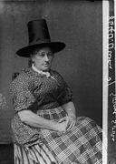 A woman in national dress (Owen) NLW3362606.jpg