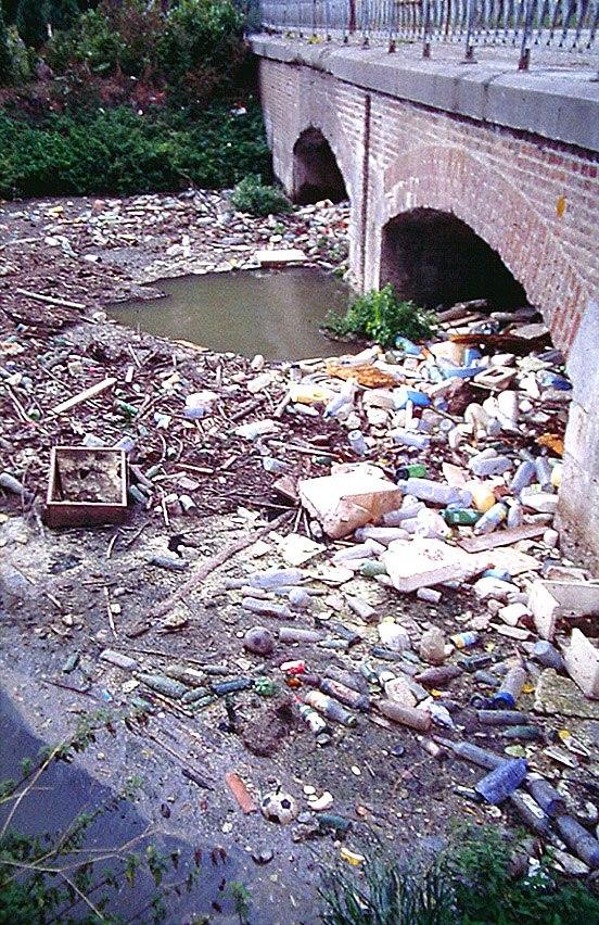 Aa Arques déchets flottants