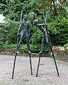 Aachen, Skulptur -Stelzenläufer- -- 2016 -- 2789.jpg