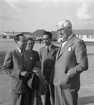 Soepomo - Dr. Supomo visit to the Netherlands in 1951
