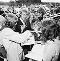 Aankomst Nederlands elftal in Hiltrup ( West Duitsland ) WK voetbal 1974 Johan , Bestanddeelnr 927-2504.jpg