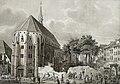 Abbruch des Basler Totentanzes bei der Altkatholische Predigerkirche, Basel. Entstanden ca. 1846.jpg