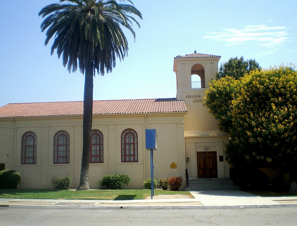 file:abraham lincoln elementary school, pomona - wikimedia commons