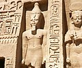 Abu Simbel temple queen pavilion guard.jpg