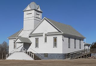 Church of Christ in LaRoche Township United States historic place