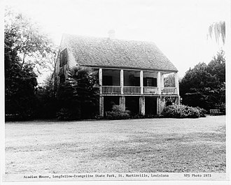 St. Martinville, Louisiana - Acadian House