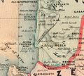 Acre Aqueduct. Asher. Rawson, A.L. Map of Palestine and all Bible lands. 1873.jpg