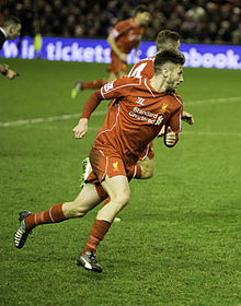 Adam Lallana v Arsenal 2014 (cropped).jpg