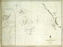 North Island--The Houtman Rocks (British Admiralty Chart 1723)