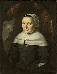 Portrait of Aeltje Denijs (b. 1598/99), wife of Hendrick Wijnands and mother of Dionijs Wijnands