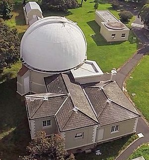 Aerial view of McClean telescope building.jpg