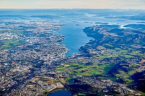 Aerial view of Sandnes, Norway in 2015.jpg