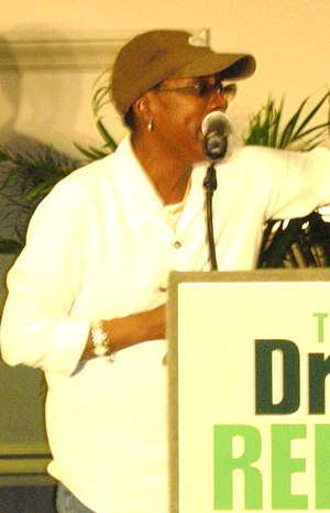Afeni Shakur - Shakur giving a speech in 2008