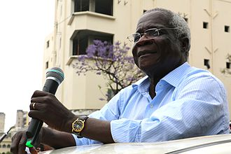 Mozambican general election, 2014 - Image: Afonso Dhlakama
