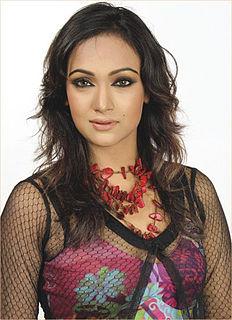 Afsana Ara Bindu Bangladeshi actor and model