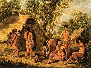 Agostino Brunias - Image: Agostino Brunias Carib Painting