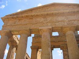Premières civilisations dans PEUPLES ANCIENS 260px-Agrigente_Temple_concorde2