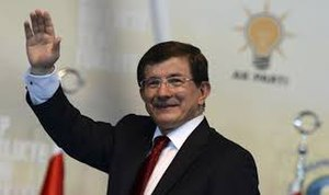 Turkish general election, November 2015 - Party leader Ahmet Davutoğlu at his party's 5th Ordinary Congress, 12 September 2015