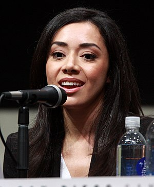 Aimee Garcia - Garcia at the San Diego Comic Con International on 18 July 2013