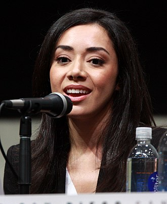 Aimee Garcia - Garcia at the San Diego Comic Con International on July 18, 2013