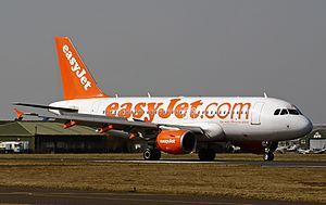 Bournemouth Airport - EasyJet Airbus A319-100 in Bournemouth