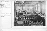 Airplanes - Engines - Aircraft Testing Field, Packard Motor Co., Detroit, Michigan. Repairs and adjustments after first run - NARA - 17338553.jpg