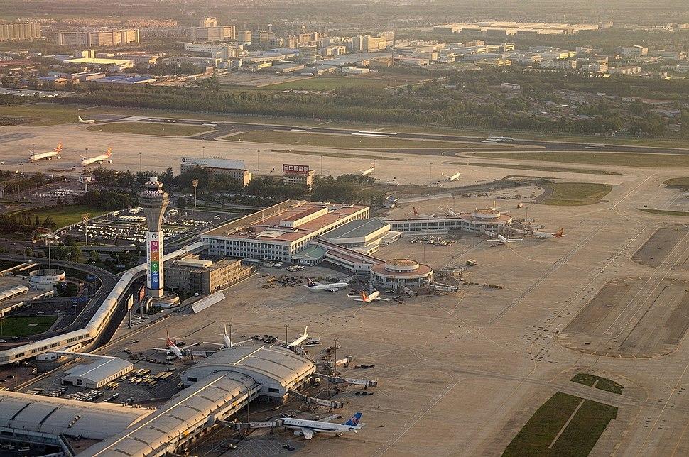 Terminal 1 & 2 of PEK