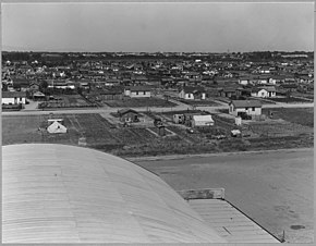 Airport tract, near Modesto, Stanislaus County, California. Part of the airport tract. View seen fro . . . - NARA - 521615.jpg