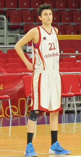 Alba Torrens - Torrens, playing for Galatasaray in 2014