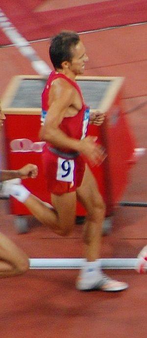 Alberto García (athlete) - Image: Alberto García