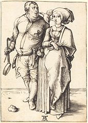 A Cook and his Wife