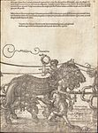 Albrecht Dürer - The Triumphal Chariot of Maximilian I (The Great Triumphal Car) (plate 4 of 8).jpg