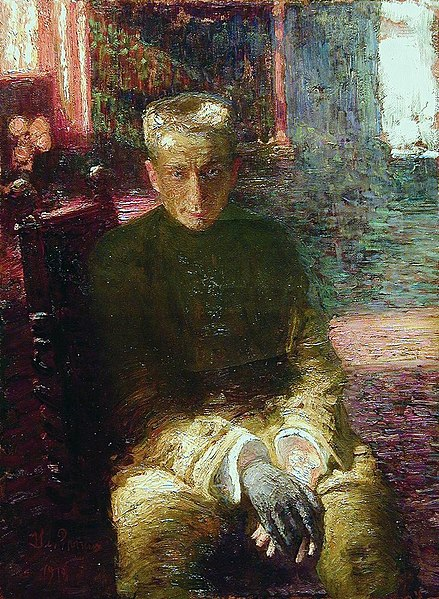 File:Alexander Kerensky by I.Repin (1917).jpg