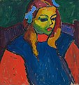Alexej von Jawlensky - Girl with the green face.jpg