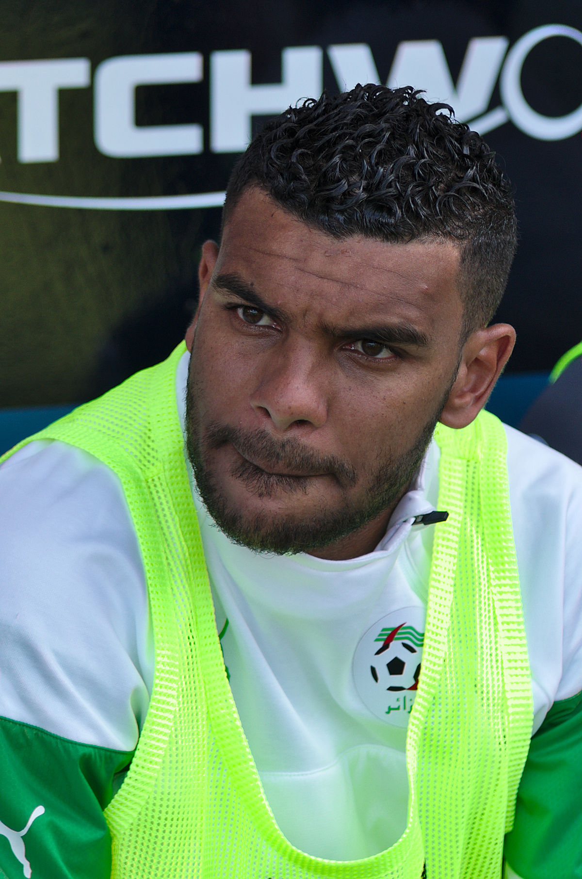 نتيجة بحث الصور عن Algerian El Arabi Hillel Soudani, GNK Dinamo Zagreb player.